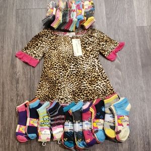 Lil Girls Shirt(FREE SOCKS)